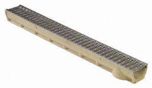 Odtokový žlab s nerezovou mřížkou SELF Line 100 Ronn Drain complet