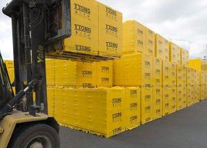 Kompletní sortiment Ytong - kamionové dodávky
