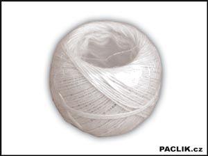 Šnůra vázací 3mm bavlna bílá 100g