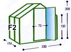 Skleník Typ F2 Gutta