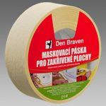 Maskovací páska pro zakřivené plochy (08.20c) Den Braven