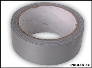 Páska lepící-stříbrná 50mmx50m