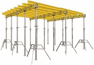 Půjčovna- Bednící systém pro stavbu ŽB stropů DOKA