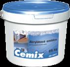 Akrylátová omítka bílá / barevná Cemix