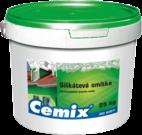 Silikátová omítka bílá / barevná Cemix