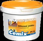 Silikonová omítka bílá / barevná Cemix
